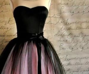 black homecoming dresses, prom dresses pink, and prom dresses 2018 image