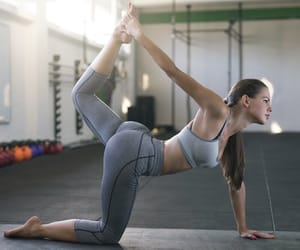 body, fitness, and gym image