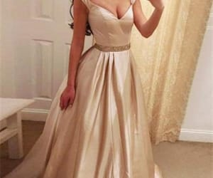 prom dress, a-line prom dresses, and evening dresses cheap image