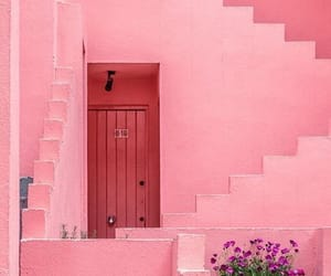 pink and house image