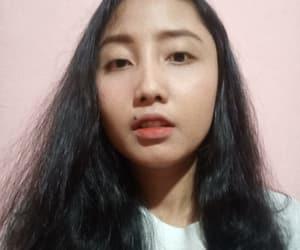 asian, wavy hair, and black hair image