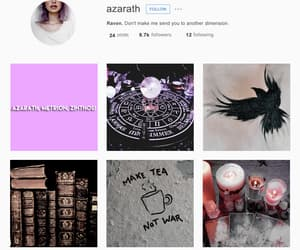 aesthetic, character, and raven image