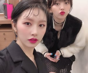 yoonjo, euijin, and uni.t image