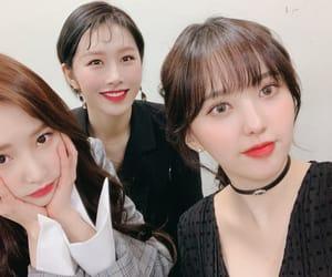 yoonjo, woohee, and euijin image