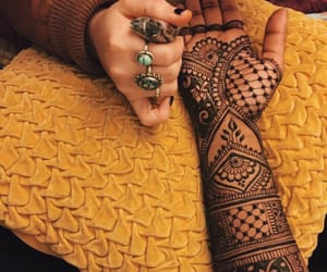 fashion, mehndi, and halal image