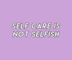 quotes, purple, and love yourself image