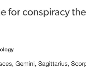 aquarius, astrology, and Conspiracy theories image
