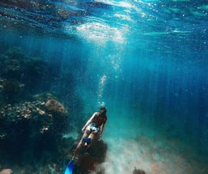 blue, dive, and wanderlust image