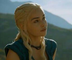 game of thrones, khaleesi, and daenerys targaryen image