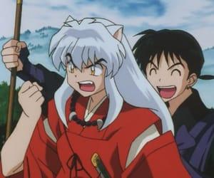 anime, kagome, and inuyasha image
