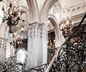 beautiful, black, and chandelier image
