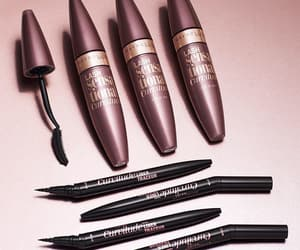 eyeliner, makeup, and parfum image
