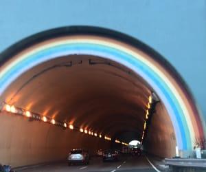 70's, 70s, and rainbow image