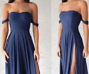 sexy prom dress, chiffon prom dress, and long prom dress image