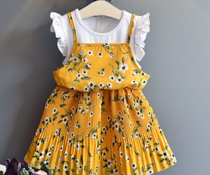 fashion, toddler dress, and popreal image