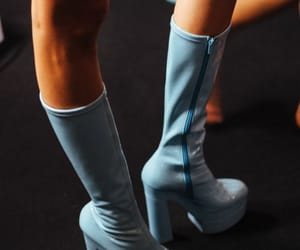blue, shoes, and boots image