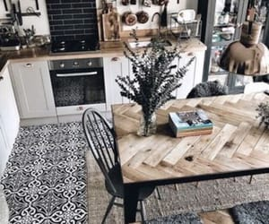home, kitchen, and stove image