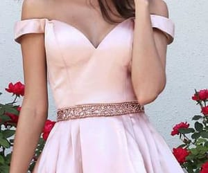 prom dresses, pink homecoming dresses, and homecoming dress image