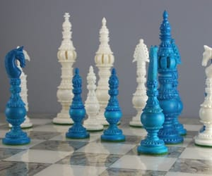 blue and chess image