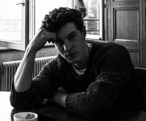 shawn, mendes, and b&w image