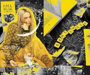 background, wallpaper, and billie eilish image