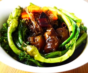 asian, soup, and food image