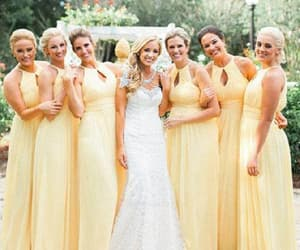 bridesmaid dresses, party dress long, and party dress a-line image