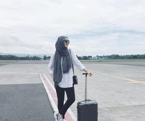 airport, fashion, and ootd image