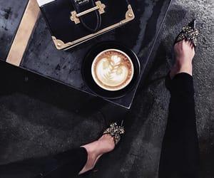 coffee, fashion, and Prada image