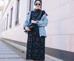 chic, hijab, and fashion image