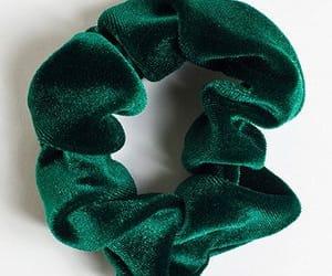 green, velvet, and hair image