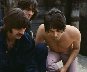 60s, a hard days night, and george harrison image