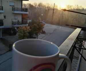 coffee, monday, and sunrise image