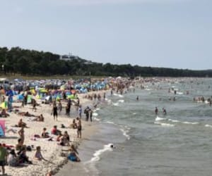 Baltic Sea, ostsee, and beach image