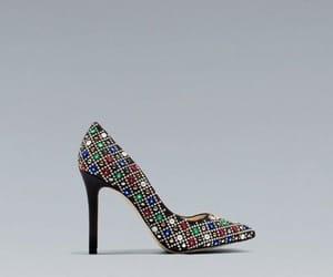 fashion, gems, and heels image