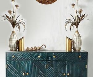 home decor, mosaic wall mirror, and wall mirror mosaic frame image