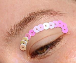 alternative, pink, and teardrops image