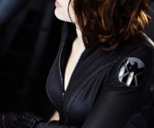 black widow, marvel comics, and Scarlett Johansson image