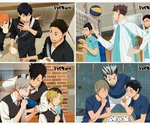 anime, kuroo, and bokuto image