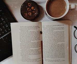 aesthetic, book, and brown image
