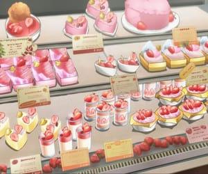 anime, dessert, and bakery image