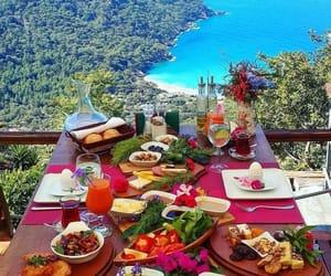 sea, food, and breakfast image