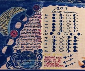 credits, luna, and lunar calendar image