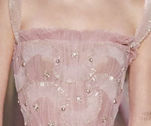 pink, fashion, and haute couture image