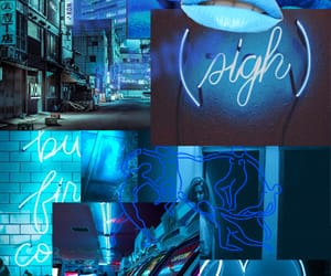 aesthetic, background, and blue image