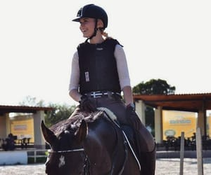 equestrian, freedom, and horseriding image
