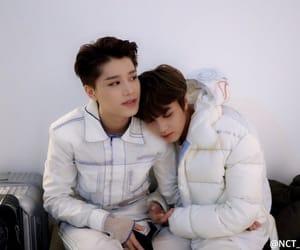 taeil, haechan, and idol image