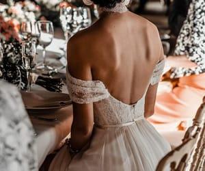 dress, fashion, and long image