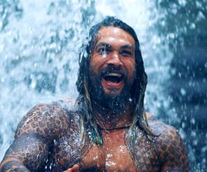 aquaman, funny, and handsome image