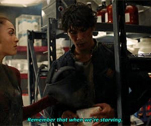 gif, the 100, and soulmates image